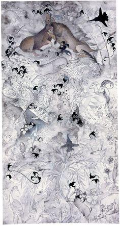 El Hurgador [Arte en la Red]: Pakistán (V) - Ahmed Pervez, Shahzia Sikander, Babar Azeemi