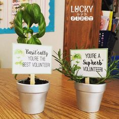 Easy Thank You Gifts for Parents! {FREEBIE}