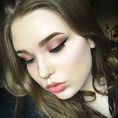 #TheBeautyBoard Makeup of the Day: Shades of Pink by KaityDagny. Upload your look to gallery.sephora.com for the chance to be featured! #Sephora #MOTD