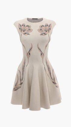 Metalic Tulip Jacquard Full Circle Dress