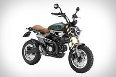 They're just concepts for now - but we're not the only ones hoping these Honda Grom Scramblers become production machines in the near future. Combining the pint-size power and beginner-friendly ride of the Grom with the versatility of a scrambler,...