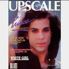 Golden Age of Music, Class & Style Black Magazine, Cool Magazine, Magazine Covers, Prince Lets Go Crazy, Upscale Magazine, The Artist Prince, Little Red Corvette, Pictures Of Prince, Prince Purple Rain