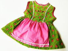 DiRndl+Kleid+68/74+TrachTen+hiPster+VinTage+70er+von+LIEBKINDmein+auf+DaWanda.com