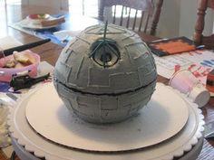You, Me and B: DIY Star Wars Death Star Birthday Cake