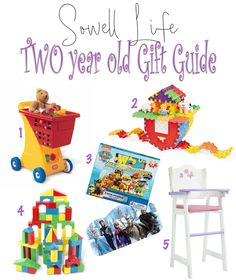 Shopping for a two year old? Here are a few ideas!