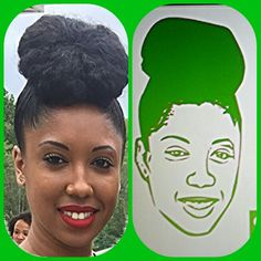 #customized #vinyl #Photo #cartoon #tumbler #Princess #Fisher #decals #cups #lime #green #royaltee #cartoon #creations #2016