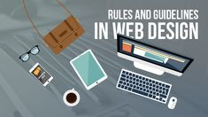 Web design guidelines are meant to guide designers to build a perfect website. These rules can enhance functionalities and graphic designs. Simple Web Design, Best Web Design, Web Design Services, Web Design Company, Design Guidelines, Pretty Designs, Interface Design, User Experience, Cool Things To Make