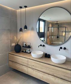 Home Room Design, Bathroom Interior Design, Henley Homes, Bathroom Styling, Bathroom Inspiration, Interior Inspiration, Small Bathroom, Home Office, Instagram