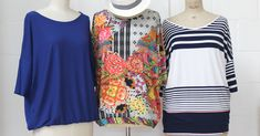 T-shirt Lily le tuto Pop Couture, Blouse, T Shirt, Cover Up, Lily, Sewing, Tops, Dresses, Women