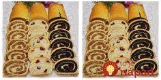 Pre mňa absolútne zázračný recept. Mám ho skupiny o varení, kde ho zdieľala pani Janka. Verte alebo nie, to cesto je len z banánu a vajec, môžete si dať aj o polnoci! Cesto (na 1 závin, ak chcete 3 záviny použite trojitú dávku): 2 zrelé banány 2 vajcia 1 lyžička medu Plnka: Maková: 150 g... Gluten Free Recipes, Baking Recipes, Healthy Recipes, Croatian Recipes, Healthy Sweets, Sweet Desserts, Hot Dog Buns, Great Recipes, Sweet Tooth