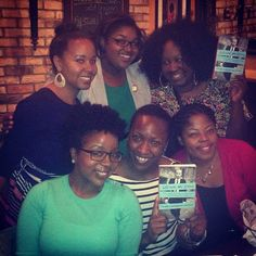 Photo by jennrlyspeakng - With my #bookettes for our April discussion!