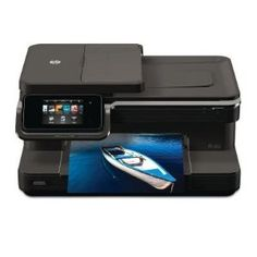 HP Photosmart 7510 e-All-in-One Printer series - Support Printer Support – On this page, you can find drivers, software, firmware, manual and wireless settings that are suitable for your Printer Types, Hp Printer, Photo Printer, Inkjet Printer, Printer Scanner, Linux, Windows Xp, Snow Leopard, Mac