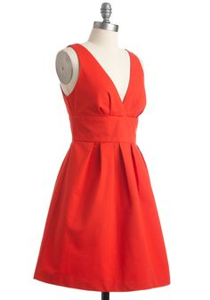 Words cannot describe how much I love this dress.  The cut, color, everything!