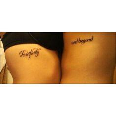 Couple tattoo (: