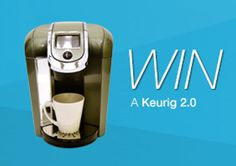 Keurig and a Year Supply of Honest Tea K-Cups sweepstakes