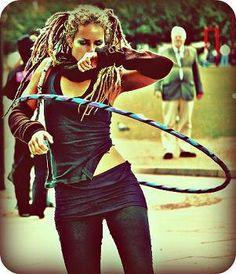 Lisa Lottie <3 she got me started in hooping!