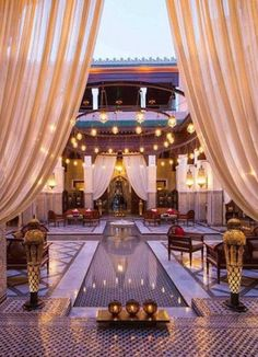Royal Mansour in Morroco is the perfect Valentine's Day to get your significant other a couples romantic getaway.