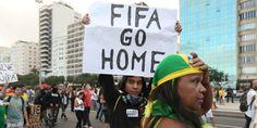 """""""Protestos na Copa do Mundo indicam avanço democrático no Brasil"""""""