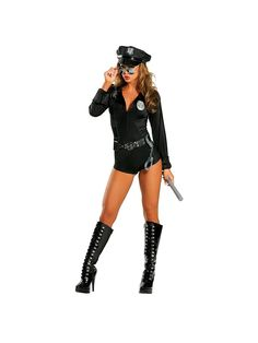 Sexy Lady Cop Police Adult Costume | Wholesale Police Costumes for Adults