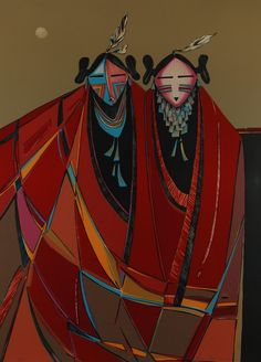 """Dan Namingha Paintings 