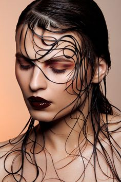 Dark lips - Make-up
