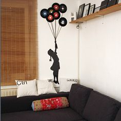 DIY Vinyl Records Art