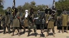 Nigeria's Baga town hit by new assault: 8 Jan 2015, A screen grab from a video released by Boko Haram, showing its leader Abubakar Shekau delivering a speech - 31 October 2014