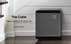 Samsung's Cube Air Purifier uses three filters to make your air as clean as possible. It's also small, stackable, quiet, and works with your voice assistant. Anxiety Disorder Treatment, Tv Shopping, All Tv, Samsung Tvs, Pet Dander, Modular Design, Air Purifier, Smart Tv, Cube