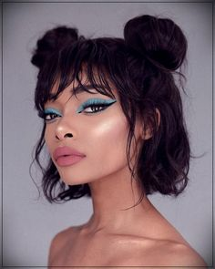 """20 Pretty and simple hairstyles for girls with shoulder length hair Easy Hairstyles,"""" , Easy Hairstyles, Girl Hairstyles, Wedding Hairstyles, Drawing Hairstyles, Hairstyle Ideas, Hair Ideas, Huda Beauty, Beauty Makeup, Hair Makeup"""