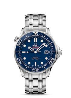 Relojes OMEGA: Seamaster Diver 300 M Co-Axial 41mm - Acero con Acero - 212.30.41.20.03.001