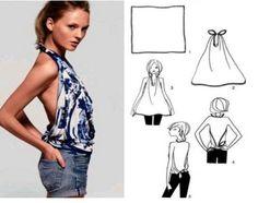 Модные вещи из платков своими руками