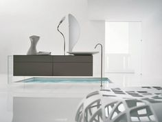 Beautiful Minimalist Luxury Bathrooms Ideas | www.homedecorideas.eu #luxuryfurniture #interiordesign #inspirations #homedecorideas #designfurniture #homedesignideas #luxuryhomes #designtrends #designinspirations #luxurybathrooms #whitedesign