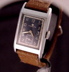 Glashutte Tutima WWII Officer's Watch