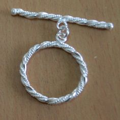Silver Plated toggle 1 Pc Silver Copper Finding Metal  #Handmade