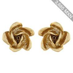 Oscar De La Renta Rose stud earrings
