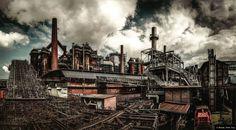 "© Blende, Peter Jung, Völklinger Hütte, Thema: ""Zahn der Zeit - Ästhetik des Verfalls"" |#VölklingerHütte #Eisenwerk #Weltkulturerbe #Zeit"