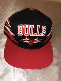 2f19bbef316 Mitchell   Ness Chicago Bulls Stripe Hat Cap Adjustable Snapback  fashion   clothing  shoes  accessories  mensaccessories  hats (ebay link)