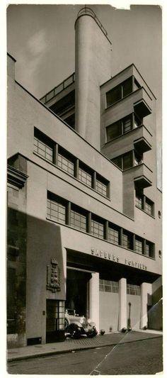 [Caserne des pompiers, rue Mesnil, Paris] | Centre de documentation des musées - Les Arts Décoratifs