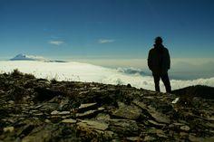 Pico de Orizaba desde Cofre de Perote, 2012. Panorámica.