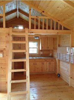 Beautiful little loft.  Sweet and simple:-)