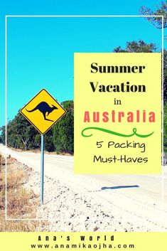Summer Vacation in Australia: 5 Packing Must-Haves  #Australia #Australianvacation #PackingguideforAustralia