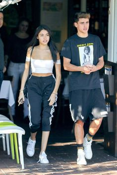 Madison Beer and Jack Gilinsky grab lunch at Mauro's In West Hollywood!  (November 8th, 2016) #Madisonbeer