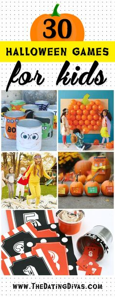 My kids would LOVE to play some of these games for Halloween this year! www.TheDatingDivas.com