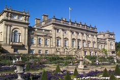 Harewood House is a palladian country house in Harewood, West Yorkshire, England. It was built from 1759 to 1771 for the Lascelles family, designed by the architects John Carr and Robert Adam.