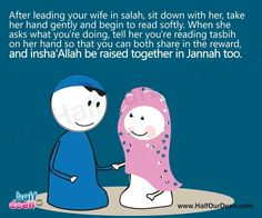 Real men love his wife.