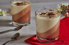 Nutella panna cotta with vanilla