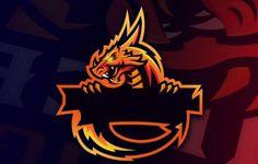 Team Logo Design, Logo Desing, Logo Esport, Logo Branding, Logo Free, Gaming Logo, Logo Dragon, Stammestattoo Designs, Ninja Logo
