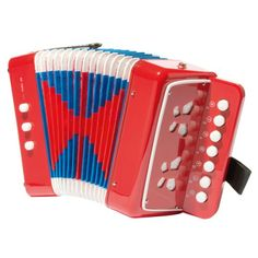 L'accordéon est un instrument à vent amusant ! Il donne un petit côté festif à l'apprentissage de la musique. En jouant, l'enfant apprend à coordonner ses mouvements : il doit appuyer en même temps sur les notes des deux claviers, ouvrir ou fermer le soufflet. L'enfant exerce l'agilité de ses doigts et son oreille musicale.