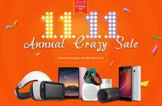 Xiaomi Single Days Sales 11.11, from Geekbuying !