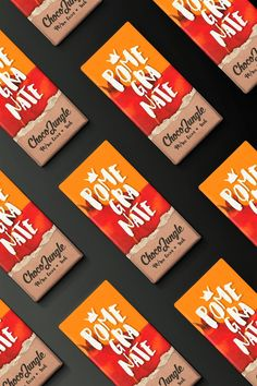 Graphic Design | Packaging Design | Choco Jungle (Concept) by Spyros Partsinevelos